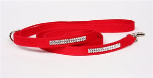 Susan Lanci Giltmore 2 Row Collection 4' Leash in Many Colors