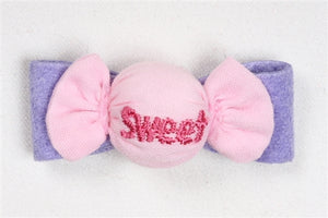 Susan Lanci Embellished Collection Hair Bows-Puffy Sweets- Three Colors
