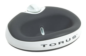 Torus 1L Water Bowl for Pets - Charcoal