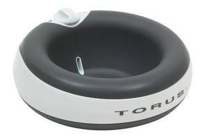 Torus 2L Water Bowl for Pets - Charcoal