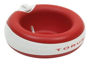 Torus 2L Water Bowl for Pets - Red