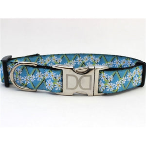 Daisy Collection Collar - All Metal Buckles