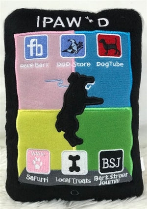 iPaw'd Plush Toy - Posh Puppy Boutique
