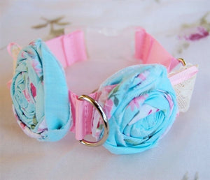 Couture Pastel Chic Collar in Blue