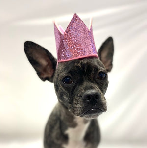 Pink Crown Party Hat
