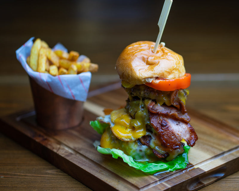Bacon Cheese Burger Meal