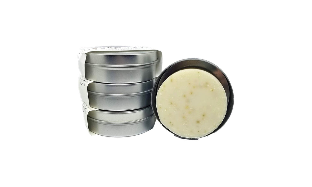 Nettle & Rosemary Shampoo Bar with Travel Tin
