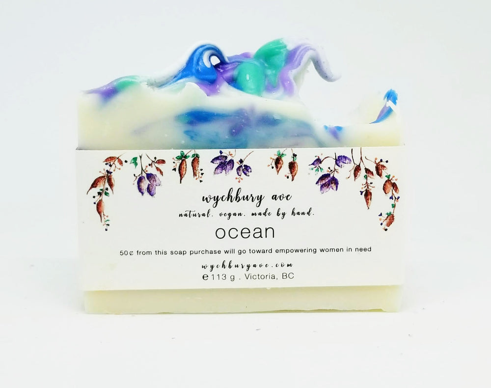 Ocean Soap | Handmade Beach Soap | Fresh Soap Made in Canada