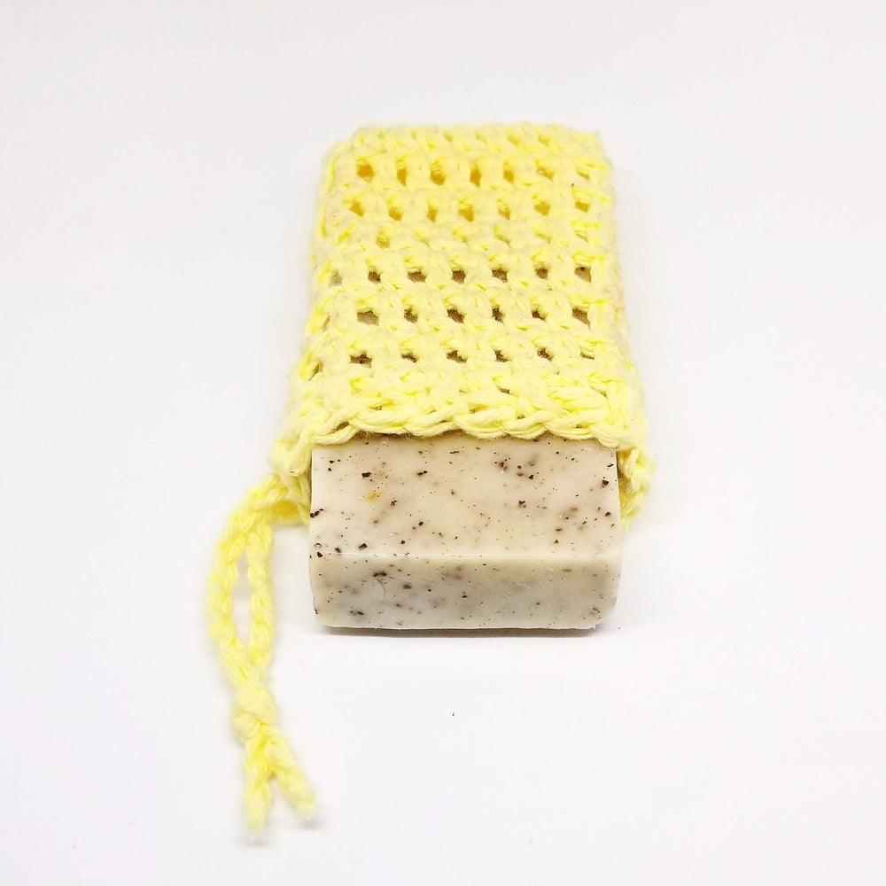 Load image into Gallery viewer, Soap & Cloth Set | Soap Saver with Bar Soap Set | Soap on a Rope