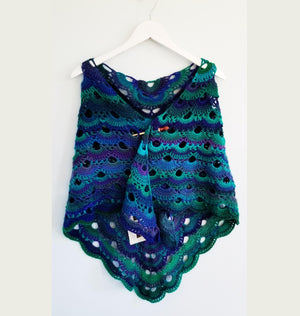Load image into Gallery viewer, Sirène Reversible Shawl & Scarf