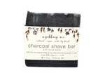 Charcoal Shaving Bar | Unscented Natural Shaving Soap | Activated Charcoal Shave Bar