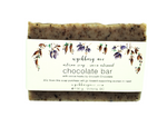 Chocolate Bar Gardener's Soap | Exfoliating Mechanic's Soap | Unscented Soap