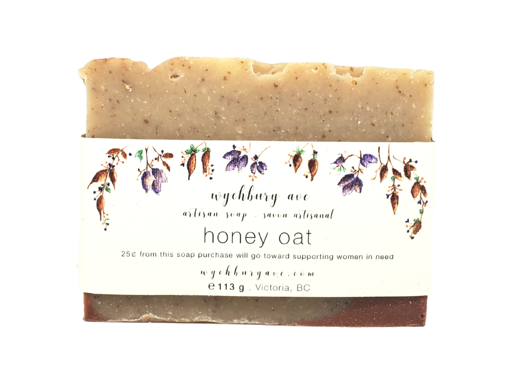 Load image into Gallery viewer, Honey Oat Vegan Bar Soap | Exfoliating Bar Soap Handmade in Canada