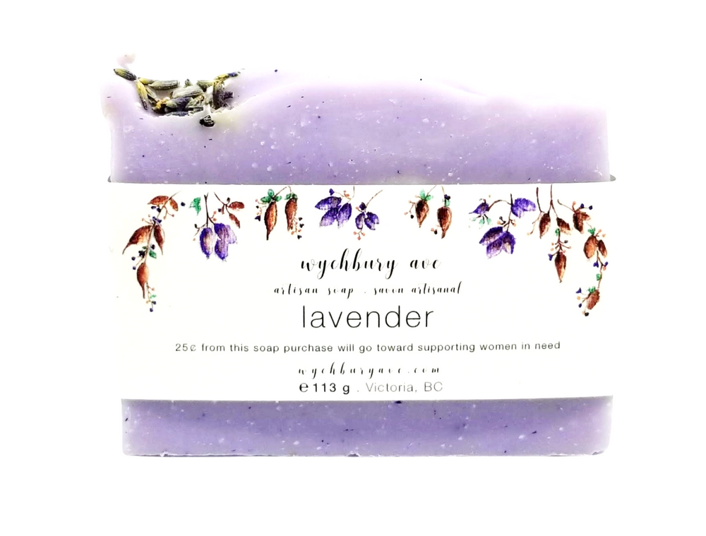 Lavender Bar Soap | Natural Lavender Soap | Palm-free Lavender Soap Made in Canada