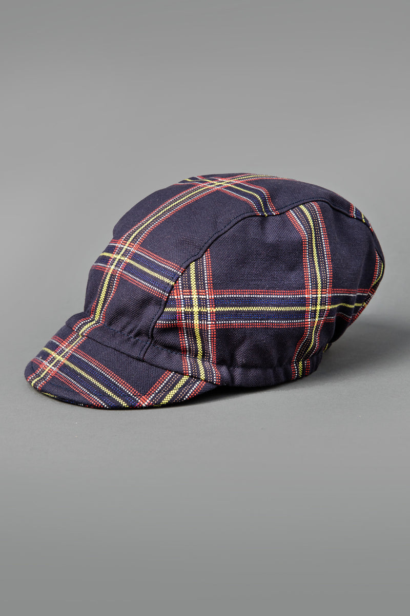 Criss Cross Stiff Brim 3 Panel Cap