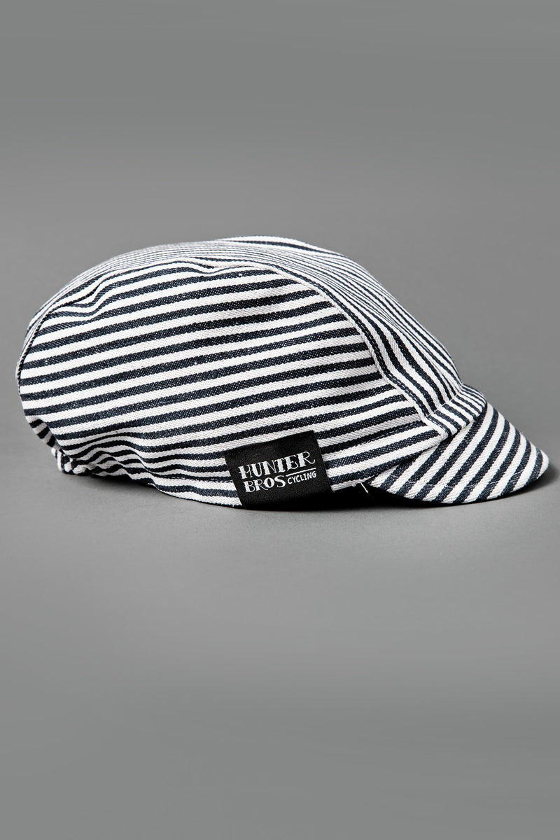 Railway Stripe Stiff Brim 3 Panel Cap