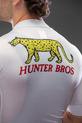 Leopard Short Sleeve Jersey White