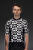 Butterflies Checkerboard Short Sleeve Jersey