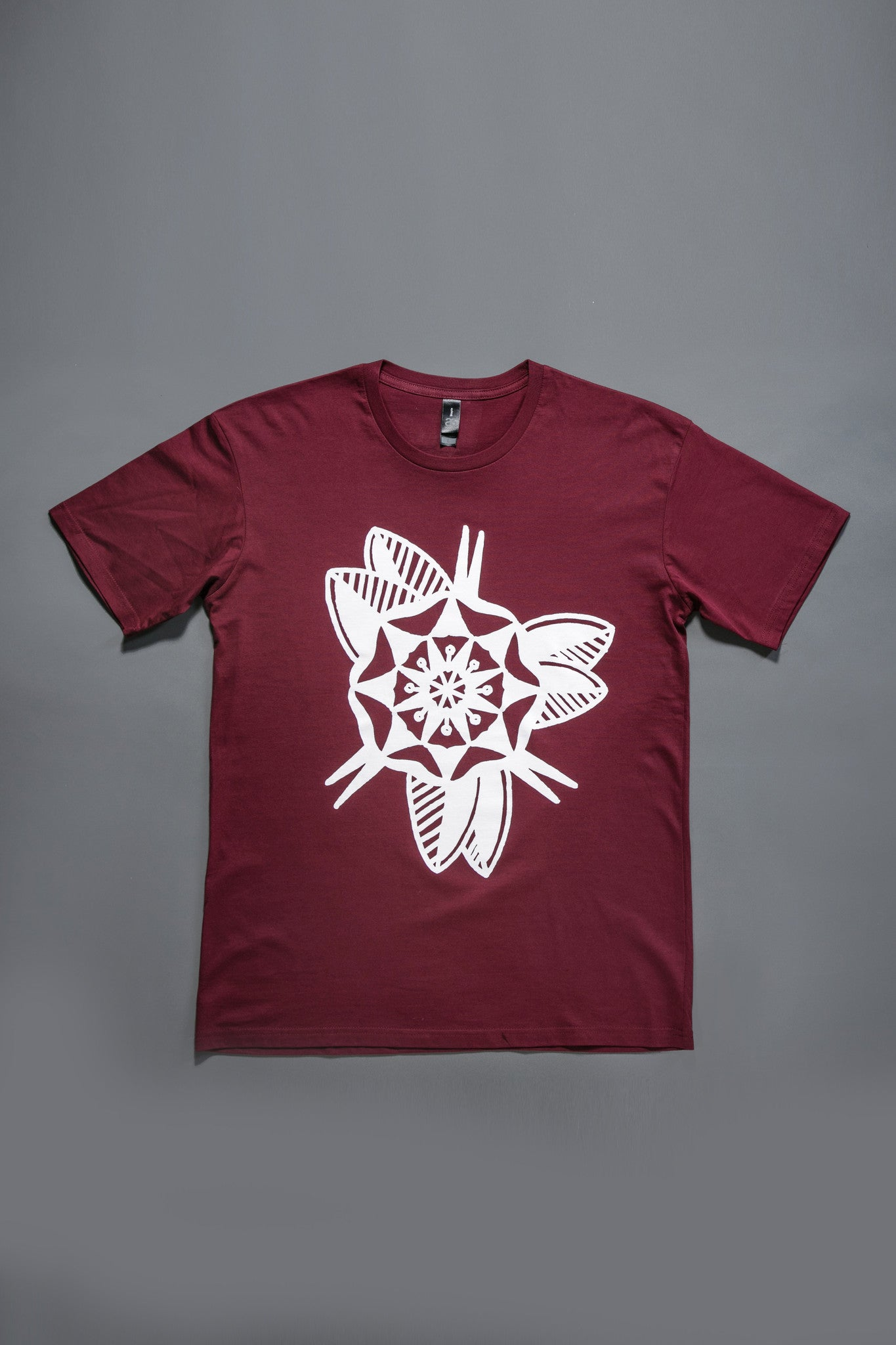 Geo-Flower Short Sleeve T-Shirt