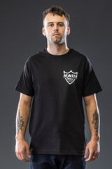 Black Shield Logo Tee