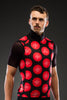 Red Butterfly Dot Full Vest