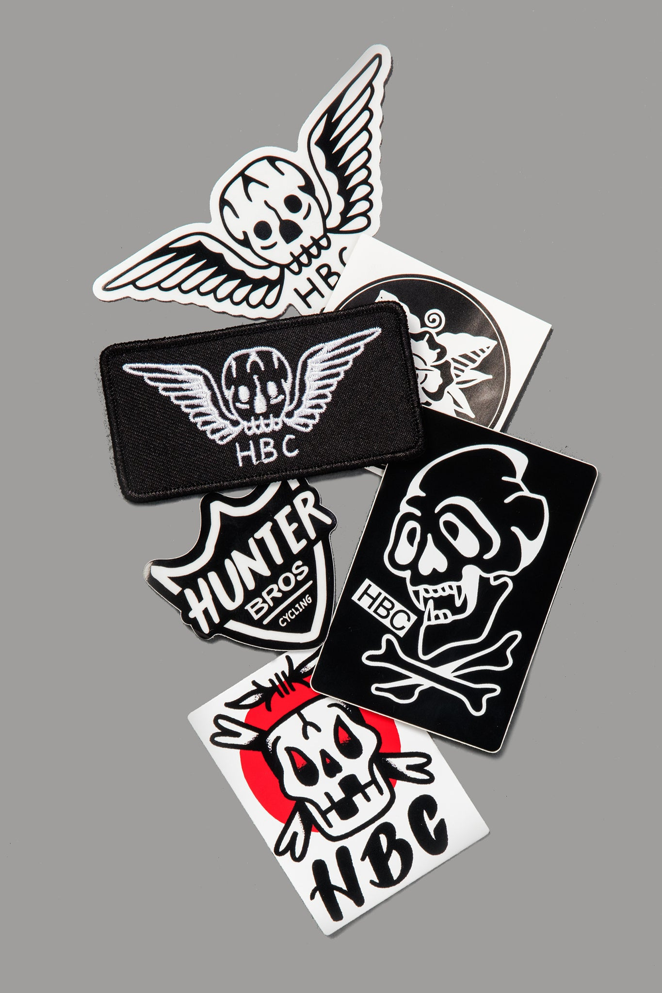 Patch and Sticker Pack