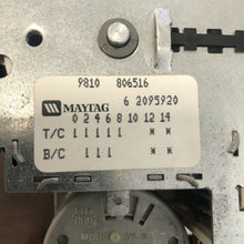 Load image into Gallery viewer, Maytag Washer Timer 6 2095920 62095920 22001924 | A 168