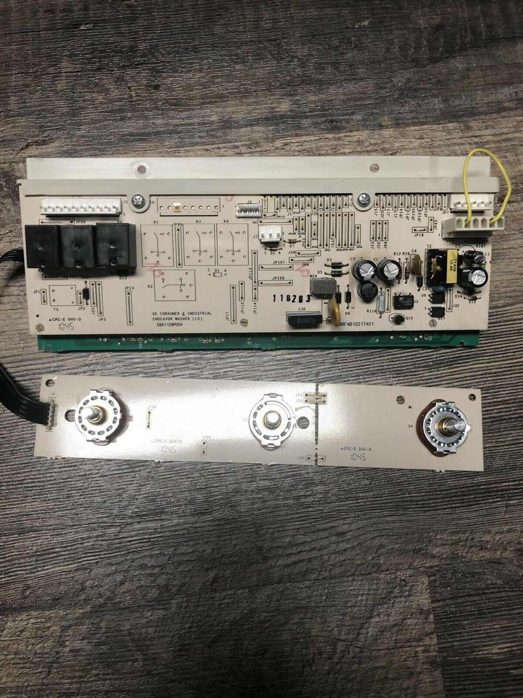 GE Dryer Control Board P# WH12X10508, 175D5261G035 | AS Box 123