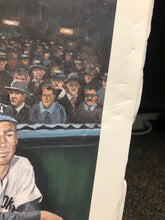 Load image into Gallery viewer, MLB 1994 NEW YORK YANKEES SIGNED JOE DIMAGGIO ANGELO MARINO LITHOGRAPH 24x20