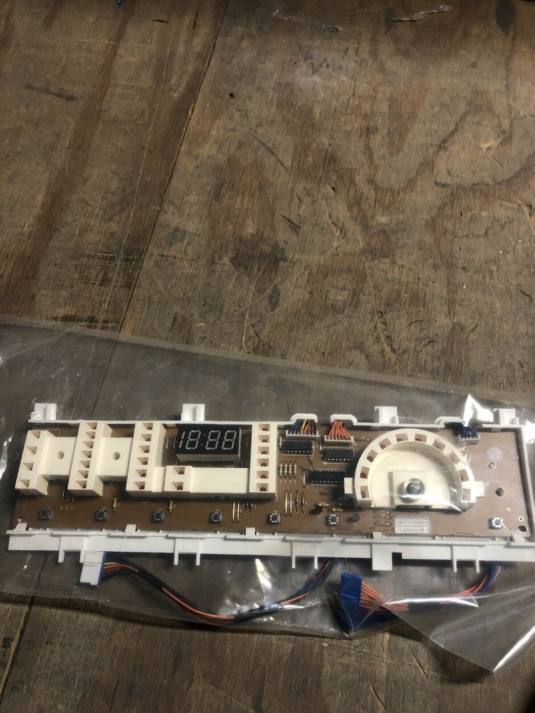 Washing Machine User Control and Display Board 6871EC2008A | AS Box 27