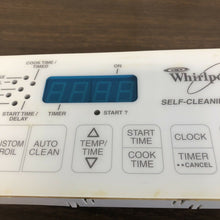 Load image into Gallery viewer, 8522476 00N20543125 Whirlpool White Stove Range Control | A 33