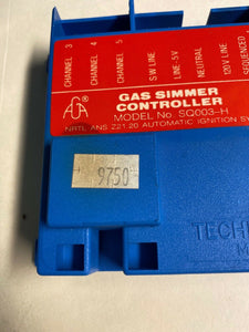 Thermador Simmer Control 00422882, 15-10-879-03, 20-01-879, SQ003-H, 00497234