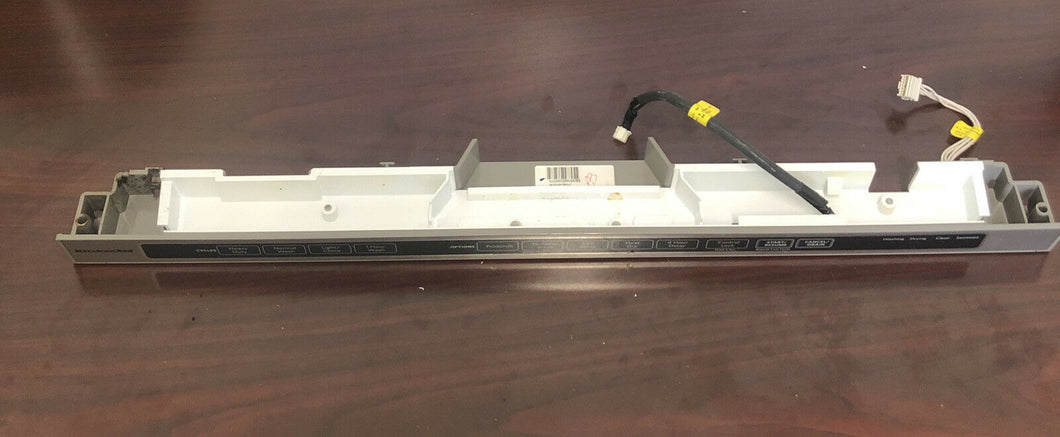 OEM KitchenAid Dishwasher Control Panel W10195793-C | AS Box 166