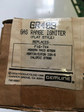Load image into Gallery viewer, Gemline Flat Oven Ignitor Igniter GR408