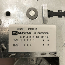 Load image into Gallery viewer, Maytag Washer Timer 6 2095920 62095920 | A 169