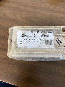 Maytag Washer Timer 63705950 6 375950 | Z 169