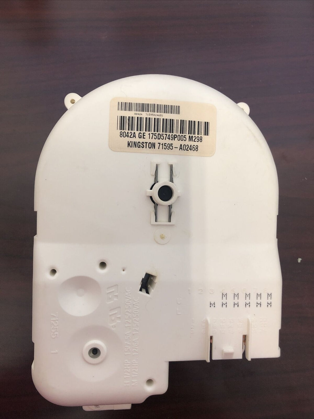 GE Washer Control Timer 175D5749P005 | AS Box 166