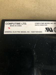 GE DISHWASHER CONTROL BOARD 165D7305G003 | AS Box 19