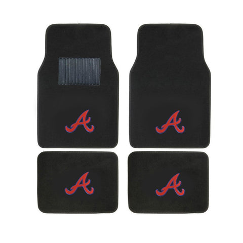 MLB 2-PC EMBROIDERED LOGO CAR FLOOR MAT SET - EZPZShipper