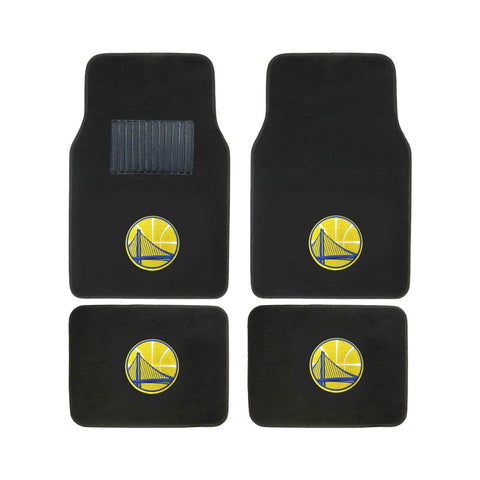 NBA 2-PC EMBROIDERED LOGO CAR FLOOR MAT SET - EZPZShipper