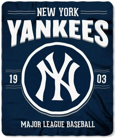 "50"" X 60"" Northwest MLB Large Soft Fleece Throw Blanket"