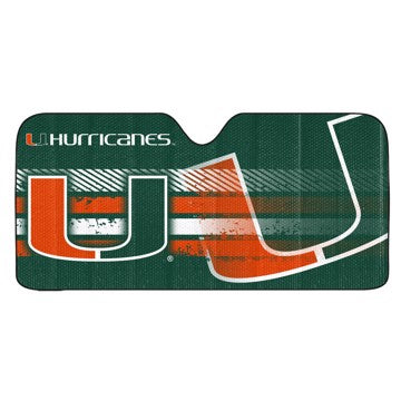 NCAA UNIVERSAL AUTOMOBILE SUNSHADE
