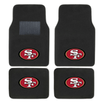 NFL 2-PC EMBROIDERED LOGO CAR FLOOR MAT SET - EZPZShipper
