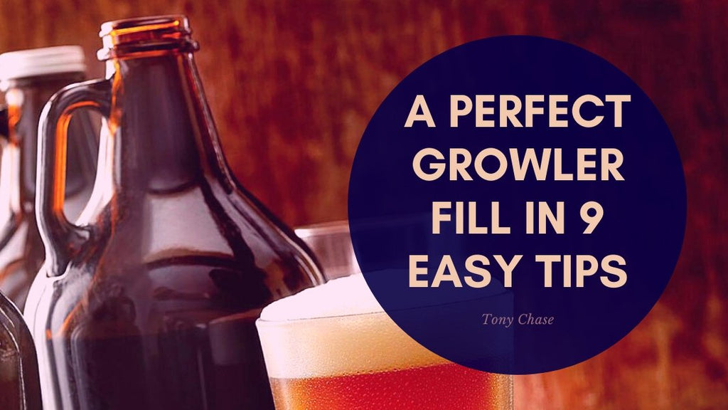 A Perfect Growler Fill In 9 Easy Tips | Boel.World
