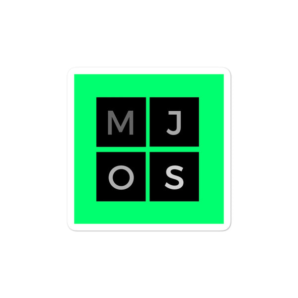 MJOS Logo Sticker (Bubble-free stickers)