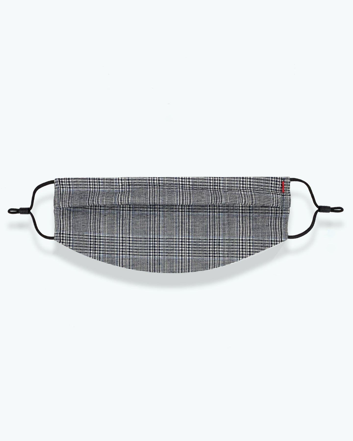 Mens Chinless Plaid Facemask