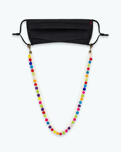Youth Pom Pom Mask Lanyard