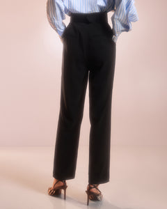 Black Tailored Trousers
