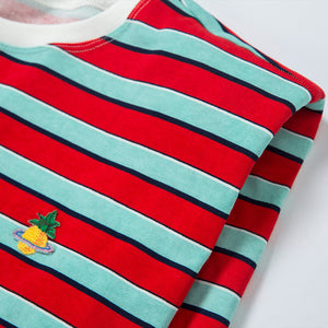 Sleeveless Striped T-Shirt