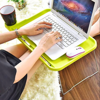 Laptop Desk Tray with Cup Holder